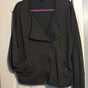 Banana republic asymmetrical soft jacket
